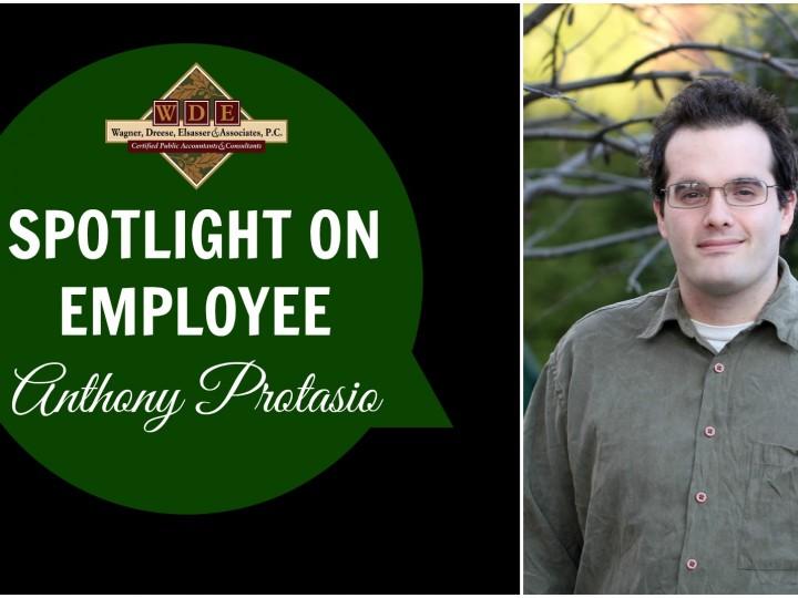 Employee Spotlight: Anthony Protasio