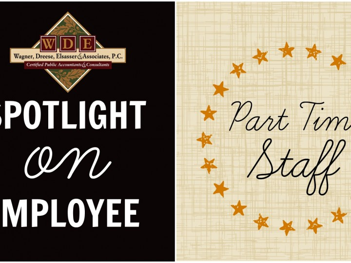 Spotlight on Employee: Part-Time Staff