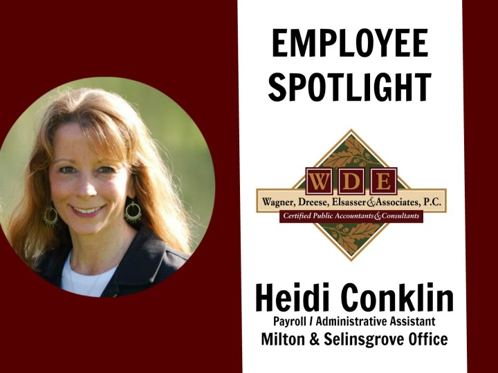 Employee Spotlight: Heidi Conklin